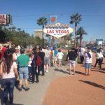 Anstehen fürs Foto, Las Vegas Sign